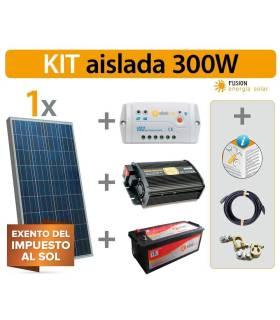 Kit Solar Fotovoltaico 3 ECO 300W