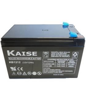 Batería solar KAISE KB12120F1 AGM  12V – 12Ah /C100