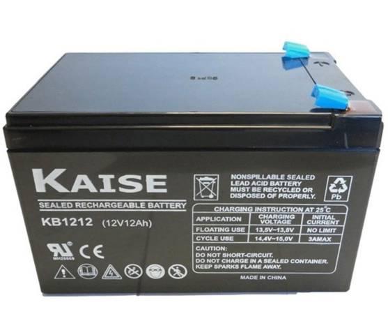 Batería solar KAISE KB12120F1 AGM (Sin mantenimiento) 12V – 12ah /C100