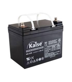 Batería solar KAISE KB12180 AGM (Sin mantenimiento) 12V – 18ah /C20