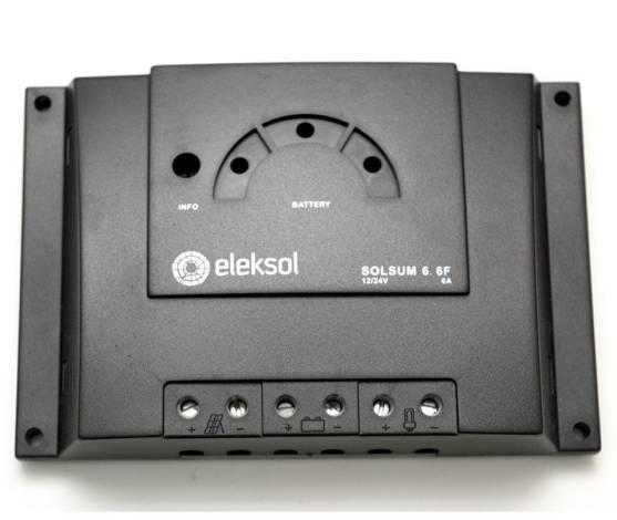 Regulador de carga solar STECA SOLSUM 6A 12/24V