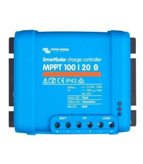 Regulador de carga VICTRON SmartSolar MPPT 100/20 12/24 - 20A