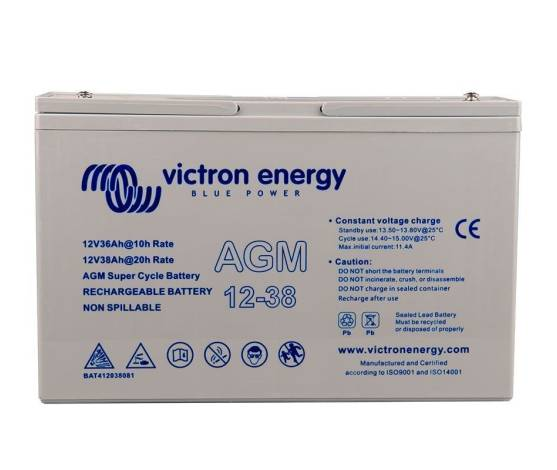 BATERIA AGM VICTRONENERGY 38AH/C100