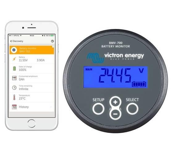Monitorización de baterías VICTRON BMV-700