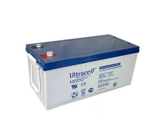 Batería gel ULTRACELL UCG-230-12 12 V 230Ah