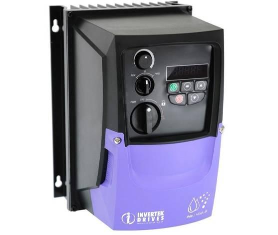 Variador de frecuencia Optidrive P2 Solar Pump 7.5 CV / 380V - IP20