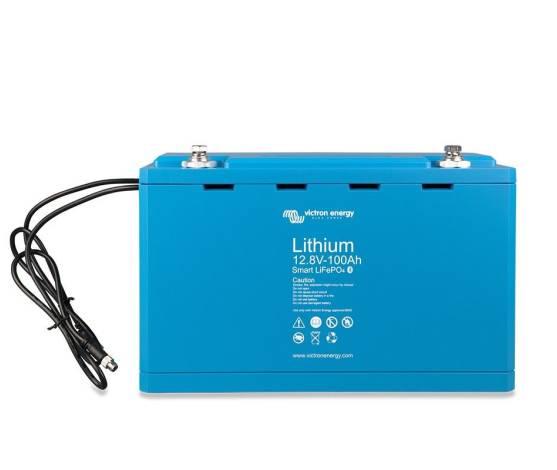 Batería litio Victron LiFePo4 (sin mantenimiento) 12.8V / 100 Ah - Smart