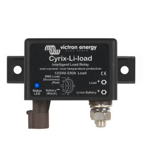 Relé de carga Victron Cyrix-Li-Load 230 A 24/48 para baterías de litio LFP