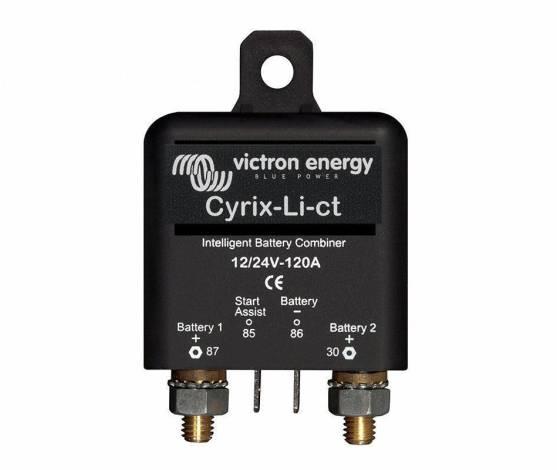 Combinador de baterías Victron Cyrix-Li-Ct 12/24 120A para baterías de lito