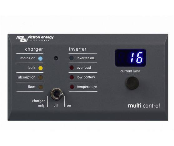 Panel Digital Multi Control 200/200A de Victron