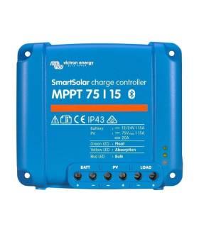 Regulador de carga VICTRON SmartSolar MPPT 75/15 12/24/48V - 15A