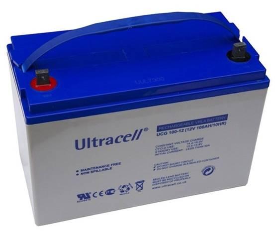 Batería gel ULTRACELL UCG-100-12 12 V 100Ah
