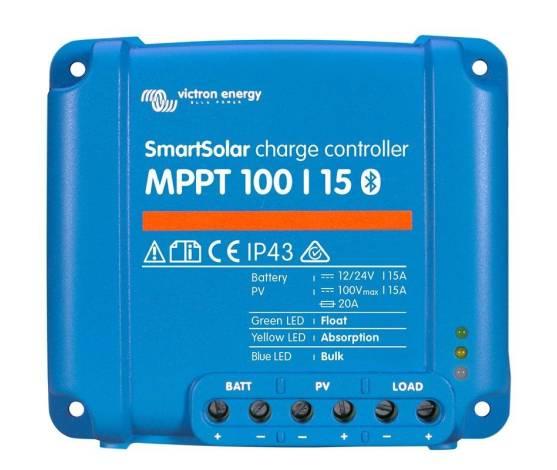 Regulador de carga VICTRON SmartSolar MPPT 100/15