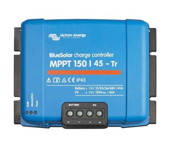 Regulador de carga BlueSolar MPPT 150/45 (12/24/48V-45A)