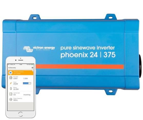 Inversor aislada VICTRON Phoenix VE.Direct Schuko 24V / 375VA