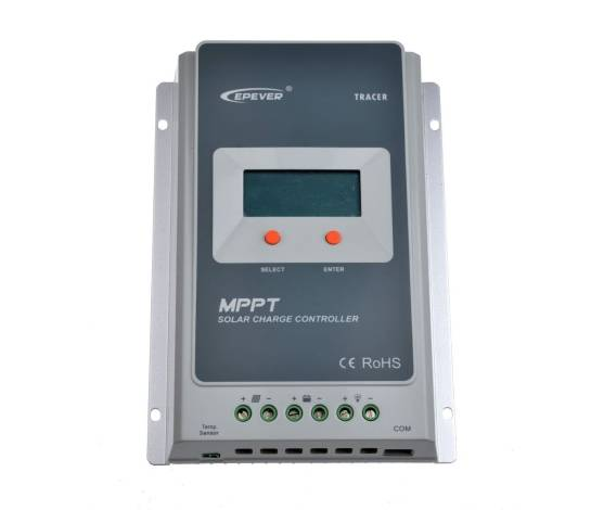 Regulador de carga EPEVER MPPT Display 100/30 - Fusión Energía Solar