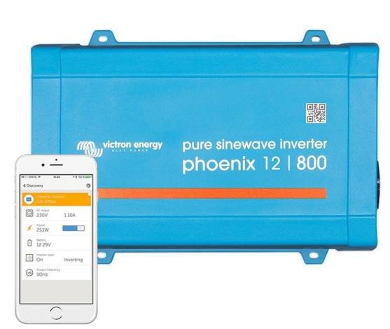 Inversor aislada VICTRON Phoenix VE.Direct Schuko 12V / 800VA