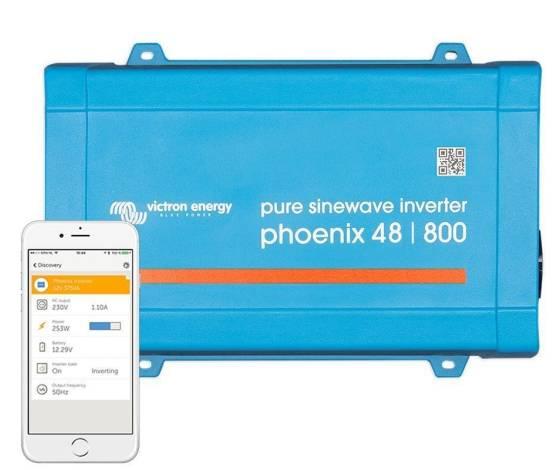 Inversor aislada VICTRON Phoenix VE.Direct Schuko 48V / 800VA