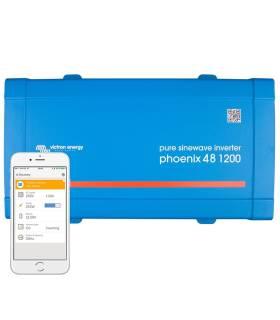 Inversor aislada VICTRON Phoenix VE.Direct Schuko 48V / 1200VA