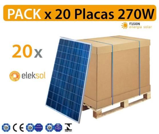 PACK especial 20 Placas solares Astroenergy 265W