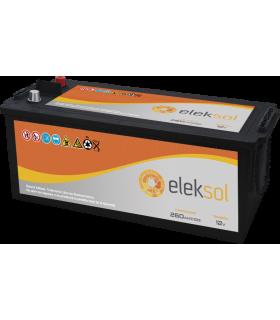 Batería solar ELEKSOL ES260 (Sin mantenimiento) 12V - 260Ah /C100