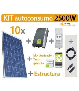 Kit autoconsumo inyección cero (Kostal) 2500W