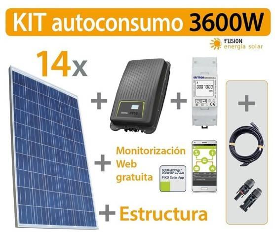 Kit Autoconsumo 3600W RD900