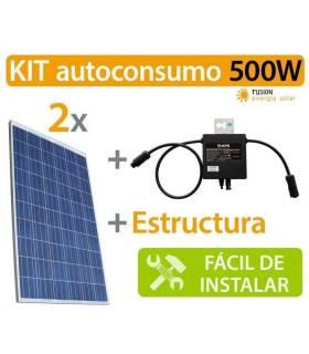 Kit autoconsumo (Microinversor YC500i) 500W
