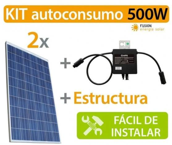 Kit Autoconsumo 500W Microinverter