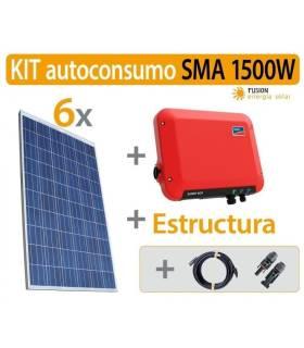 Kit Autoconsumo 1500W SMA