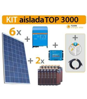 Kit Solar Fotovoltaico TOP 3000 W