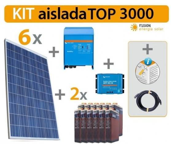 Kit Solar Fotovoltaico TOP 3000 W