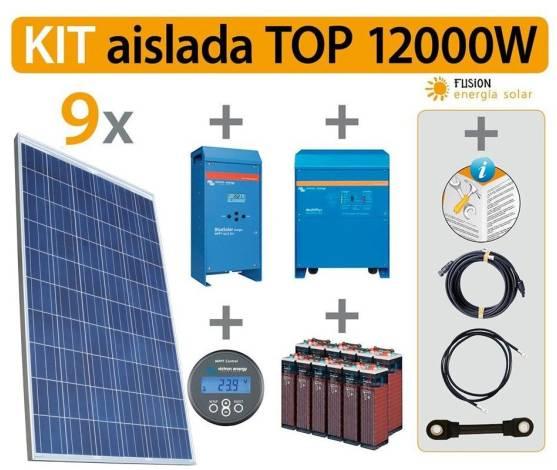 Kit Solar Fotovoltaico TOP 12000W