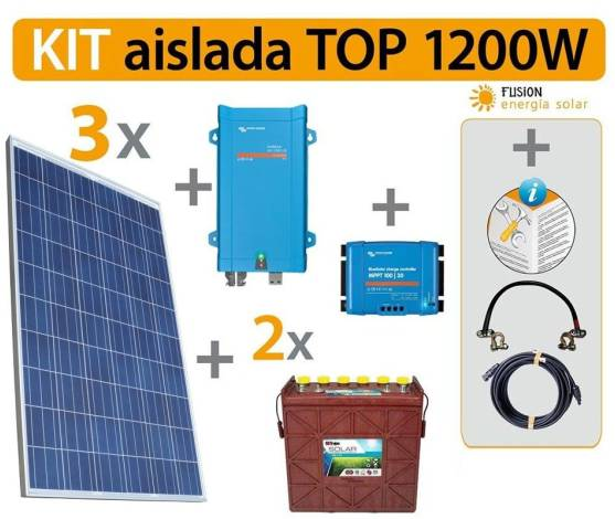 Kit Solar Fotovoltaico TOP 1200 W