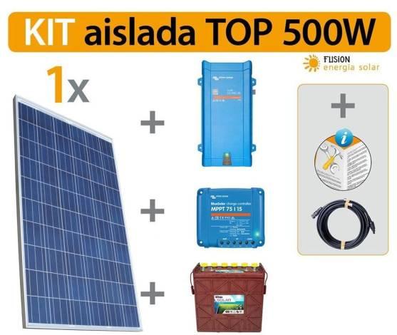 Kit Solar Fotovoltaico TOP 500 W