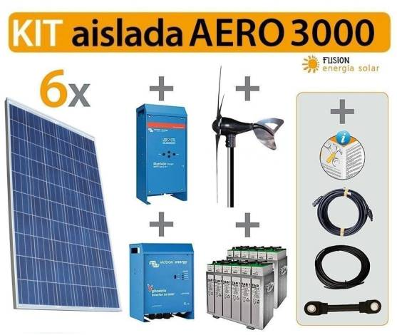 kit Solar Fotovoltaico AERO 3000