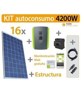 Kit Autoconsumo solar 4.2kW trifásico