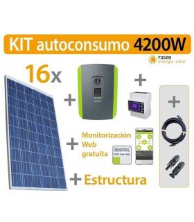 Kit Autoconsumo 4.2kW trifásico