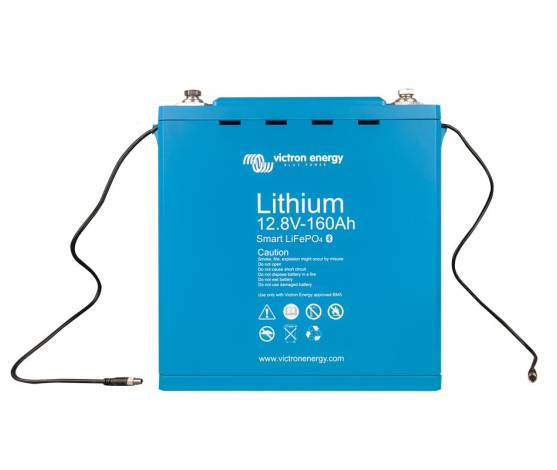 Batería litio Victron LiFePo4 (sin mantenimiento) 12.8V / 160 Ah - Smart