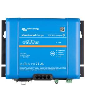 Cargador de baterías VICTRON PHOENIX SMART IP 43 12/50 (3)