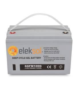 Batería solar ELEKSOL GEL 6GFM100G - 12V 100Ah