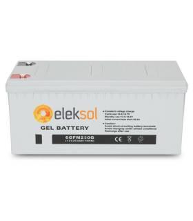 Batería solar ELEKSOL GEL 6GFM250G - 12V 250Ah