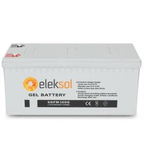 Batería solar ELEKSOL GEL6GFM300G - 12V 300Ah