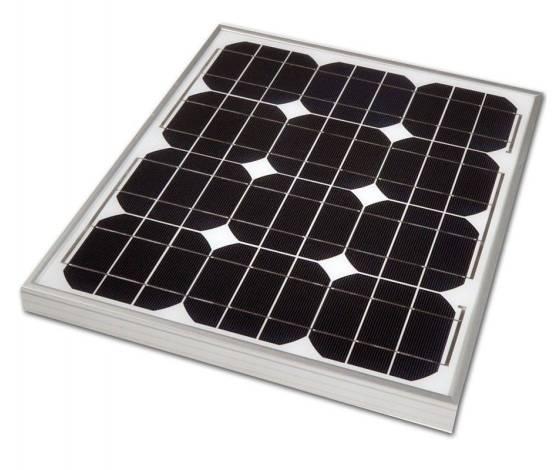 Placa solar fotovoltaica monocristalina BlueSolar VICTRON 20W / 12V