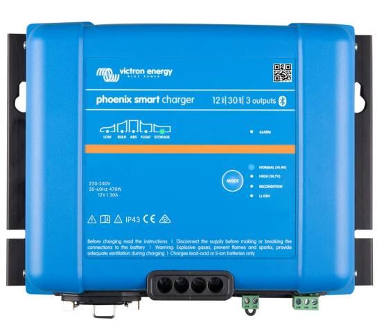 Cargador de baterías VICTRON PHOENIX SMART IP43 12/30 (3)