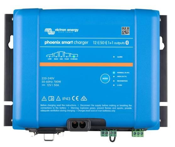 Cargador de baterías VICTRON PHOENIX SMART IP43 12/50 (1+1)