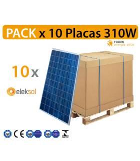 PACK especial 10 Placas solares Eleksol 310W PERC mono