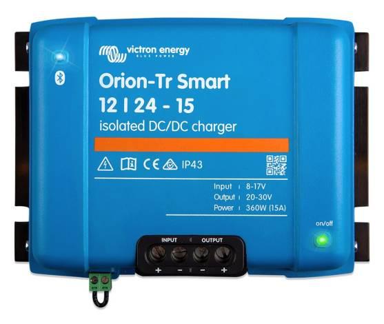Cargador CC/CC Victron Orion-Tr Smart 12/24-15
