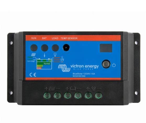 Regulador de carga Victron BlueSolar PWM-Light  12/24-10
