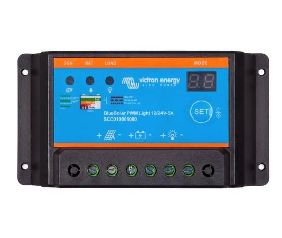 Regulador de carga Victron BlueSolar PWM-Light  12/24-5